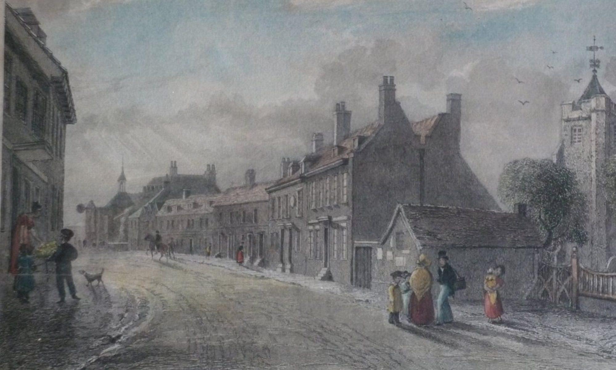 High Street Queenborough